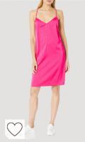 Vestido fucisa de tirantes. Marca Amazon - Darcy - Mini Vestido Elástico Con Lazo - dresses Mujer por The Drop