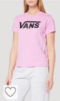 Camiseta Vans Vans Flying V Crew tee Camiseta para Mujer