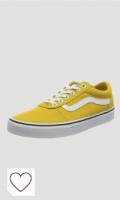 Zapatillas Vans amarillas. Vans Ward Canvas, Zapatillas Niñas