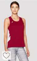 Camiseta Deportiva Asics para mujer. ASICS Women's Team Sweep Singlet Singlet Mujer
