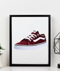 Zapatillas Vans para mujer de color rojas. Vans Filmore Decon, Zapatillas Mujer