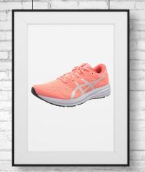 Zapatillas Asics mujer color rosa. Zapatillas Asics rosas para correr. ASICS Patriot 12, Road Running Shoe Mujer
