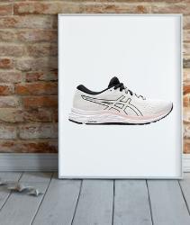 Zapatillas para correr Asics blancas para mujer. Zapatillas Asics Running. ASICS Gel-Excite 7, Sneaker Mujer