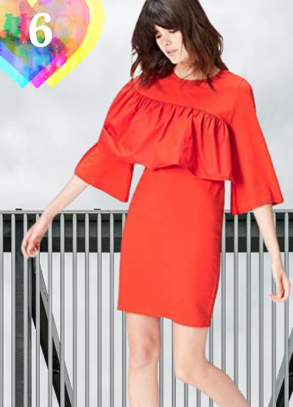 Vestido corto Marca Amazon - find. Vestido de Fiesta para Mujer