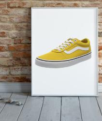 Vans Ward Canvas, Zapatillas Niñas