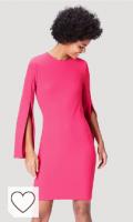 Vestido fucsia. Marca Amazon - find. Vestido Mujer