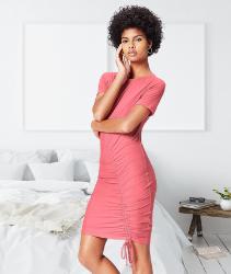 Vestido mujer color rosa corazón. Marca Amazon - find. Vestido Ajustable para Mujer