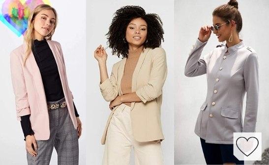 Tendencias Moda Mujer Primavera Verano 2021. Chaquetas y blazers mujer primavera verano
