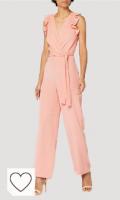 Vestido mono para mujer color rosa corazón. Marca Amazon - Truth & Fable Mono Mujer