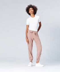 Pantalones mujer color rosa pastel. Marca Amazon - find. Pantalones Mujer