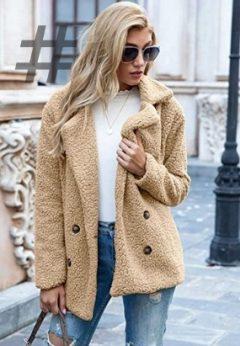 Chaquetas y abrigos de peluche para otoño invierno 2021-2022
