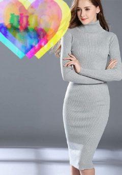 Vestidos mujer largos moda otoño invierno 2021-2022