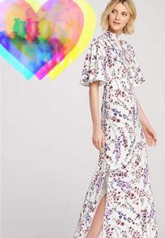 Vestidos Flores moda otoño invierno 2021-2022